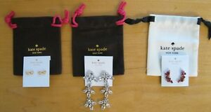 95125854c9d87 Details about KATE SPADE CLUSTER CRAWLING BERRY EARRINGS, ICE QUEEN  CHANDELIER EARRINGS NWT