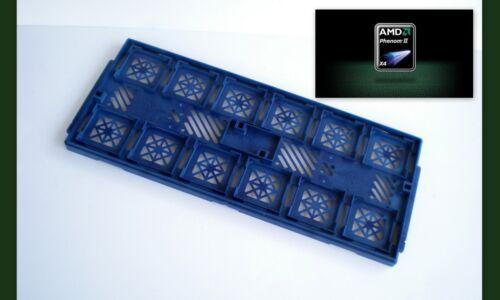 AMD CPU Tray Holder for Phenom Sempron Socket AM3 AM2 939 Qty 3 fits 36 CPU/'S