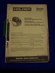Original-Ersatzteilliste-fuer-Holder-Sachs-Stamo-96-L-Raritaet