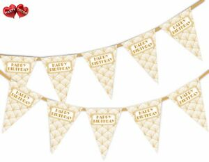 Happy-Birthday-Gold-Print-Art-Deco-Bunting-Banner-15-flags-by-PARTY-DECOR