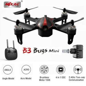 MJX B3 Mini Bugs3 Mini 2.4G Gyro Brushless Motor RC Racing Drone quadricottero