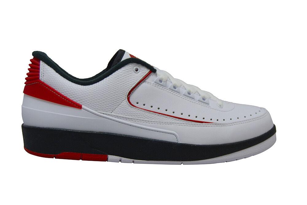 Hommes - Nike Air Jordan 2 Rétro Bas Rare - Hommes 832819101 - Blanc Universitaire 8e6d06