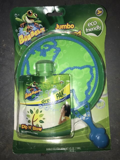 Eco Friendly JUMBO BUBBLE EARTH WAND Dip N Blow Bubbles BIRTHDAY GIFT BAG PRIZE