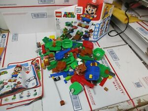 LEGO SUPER MARIO ADVENTURES 2 SETS NOT COMPLETE NO MARIOS! 71360 USED FAST SHIP