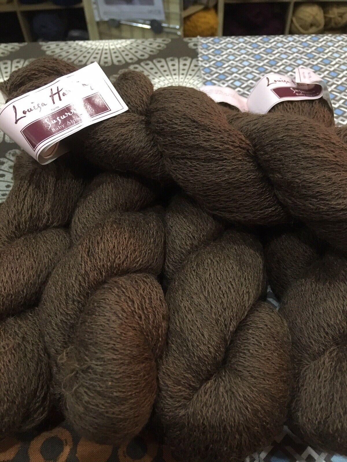Louisa Harding Luzia Fur Effect Yarn #03//Amber 3 x 50g Balls
