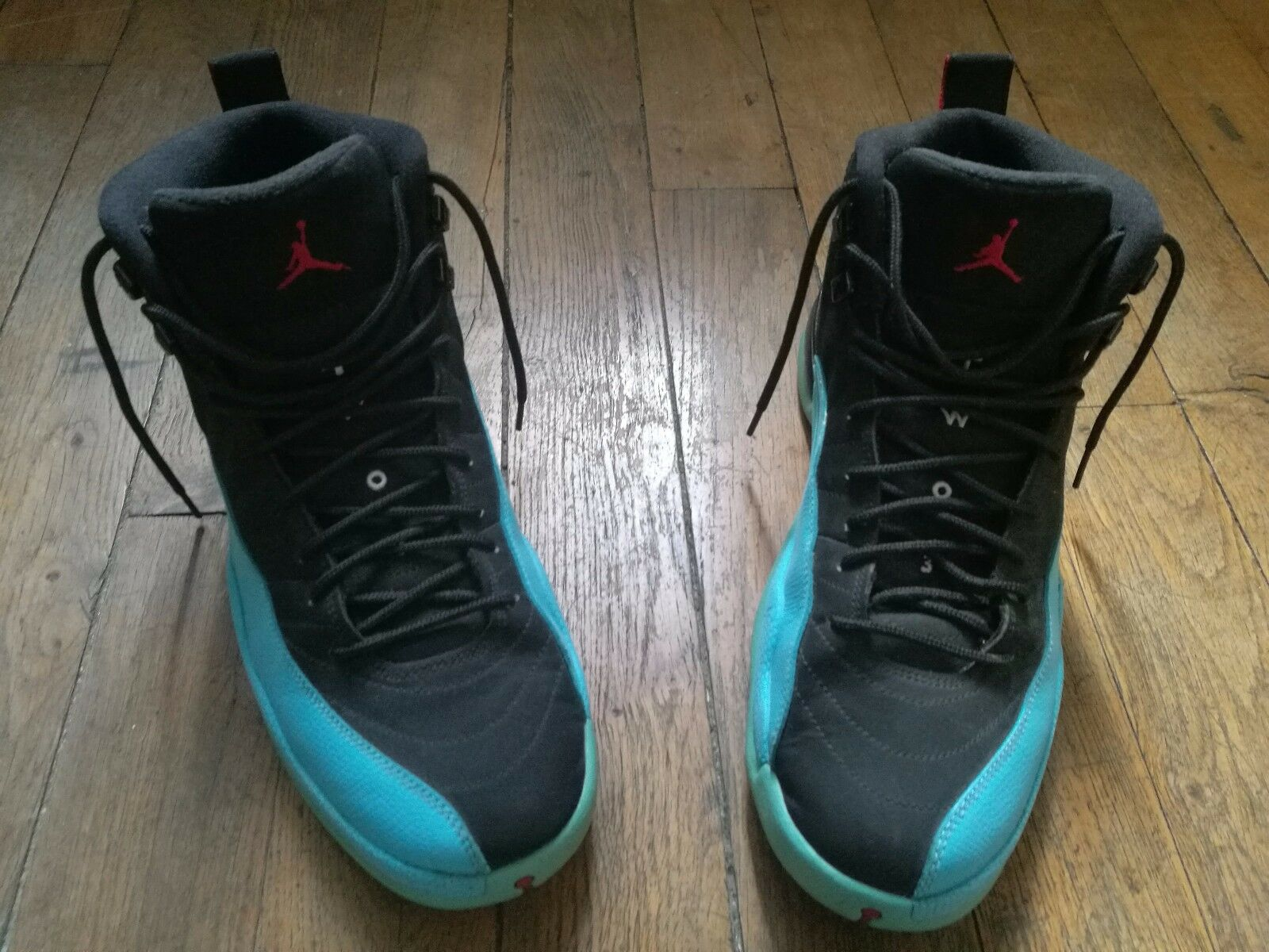 Nike air jordan 12 retro blau - xii - blau retro als 44 eu / größe 10 us - 2e569b