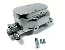 1//2 Ports 2 2 Aluminum Brake Master Cylinder 1 1//8 Bore Smooth Top 9//16 /&