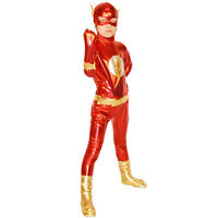 The Flash Costume Kids Superhero Costume Children Halloween Boys Cosplay Outfits