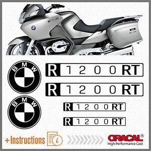 6x-BMW-R1200RT-Black-Matt-2007-ADESIVI-PEGATINA-R-1200-RT-AUTOCOLLANT-AUFKLEBER