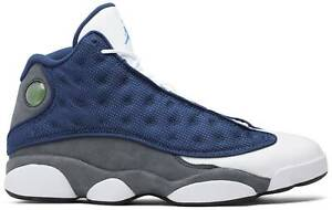 Nike Air Jordan 13 Retro 'Flint' 2020 Navy White Grey Authentic Mens New