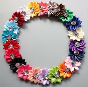 5-25-5CM-New-Satin-Ribbon-Flowers-Appliques-Craft-Wedding-Party-Sewing-DIY-Decor