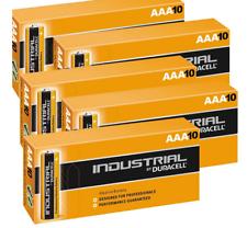 50 x DURACELL AAA INDUSTRIAL PROCELL ALKALINE BATTERIES LR03, MN2400, MICRO MINI