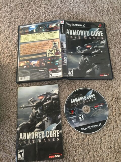 Armored Core Last Raven (Sony PlayStation 2, 2006) PS2, Complete CIB, VG - RARE!
