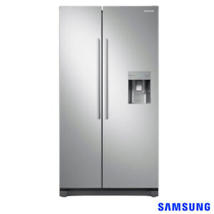 Samsung Side By Side Fridge Freezer Rs52n3313saeu A 426 Kwh In