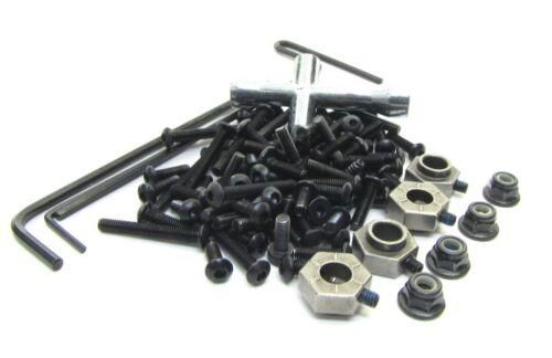 12mm Hex hubs nuts hardware Traxxas 82034-4 SCREWS tools TRX-4 TRAXX