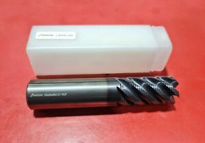 NADAV™ 25mm 6 Flute Roughing Carbide TiAlN Coated End Mill Rougher 25x25x45x121