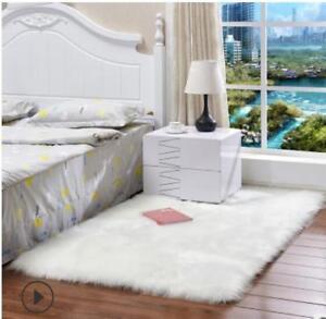 Plüsch Shaggy Teppiche Fluffy Matte Anti-Rutsch Teppich Schlafzimmer ...
