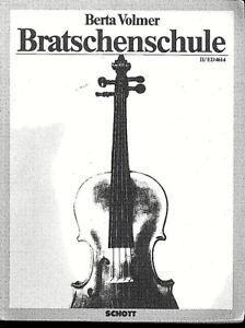 Berta-Volmer-Bratschenschule-Band-II