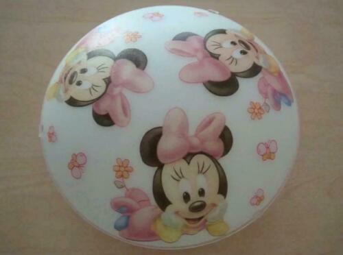Baby Minnie Mouse Maus Deckenlampe Kinderzimmer Deko Serviette Blumen Disney LED