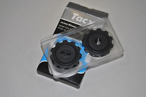 Poleas-RUEDAS-TACX-Negro-Sram-T4080-JOCKEY-ruedas-Tacx-T4080