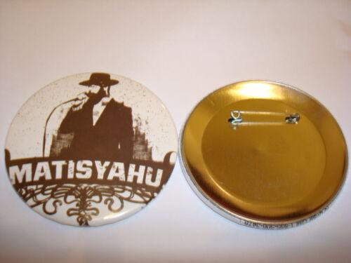 MATISYAHU Commemerative 3-inch Pinback Button Rare NEW