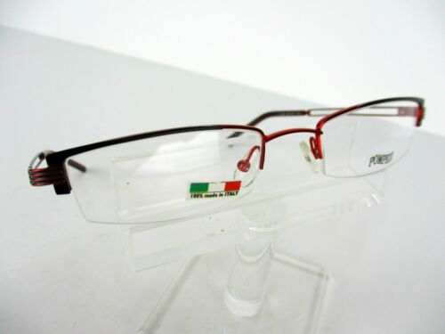 Pompeii Eyewear 375 544 Black Red 50 x 18 135 mm Eyeglass Frames