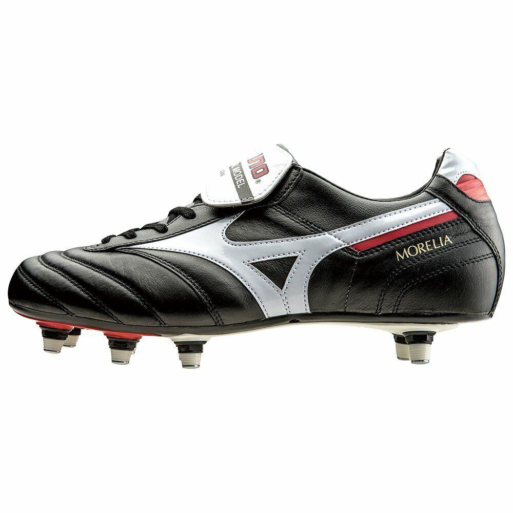 Zapatos de fútbol de pico de Mizuno Morelia 2 SL P1GC1501 Negro US8.5 (26.5cm)