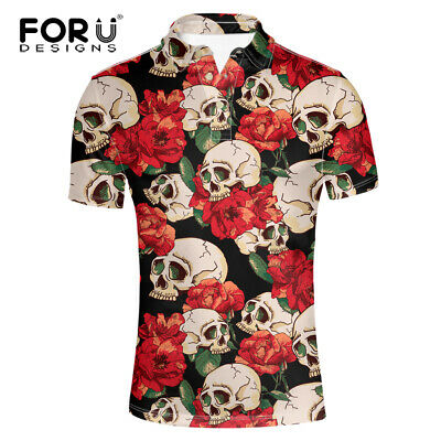 Navy Day Of The Dead Polo Shirt Candy Skull Poloshirt Mexican Tshirt Mexico Top