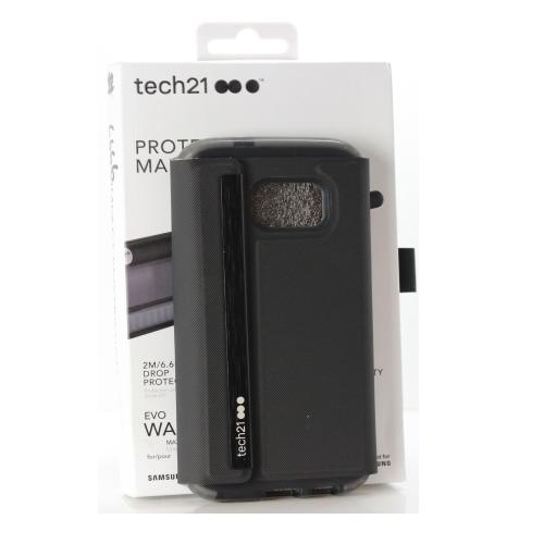 best sneakers 66aab 2d092 tech21 EVO Wallet Folio Shell Case for Samsung Galaxy S7 Edge - Black