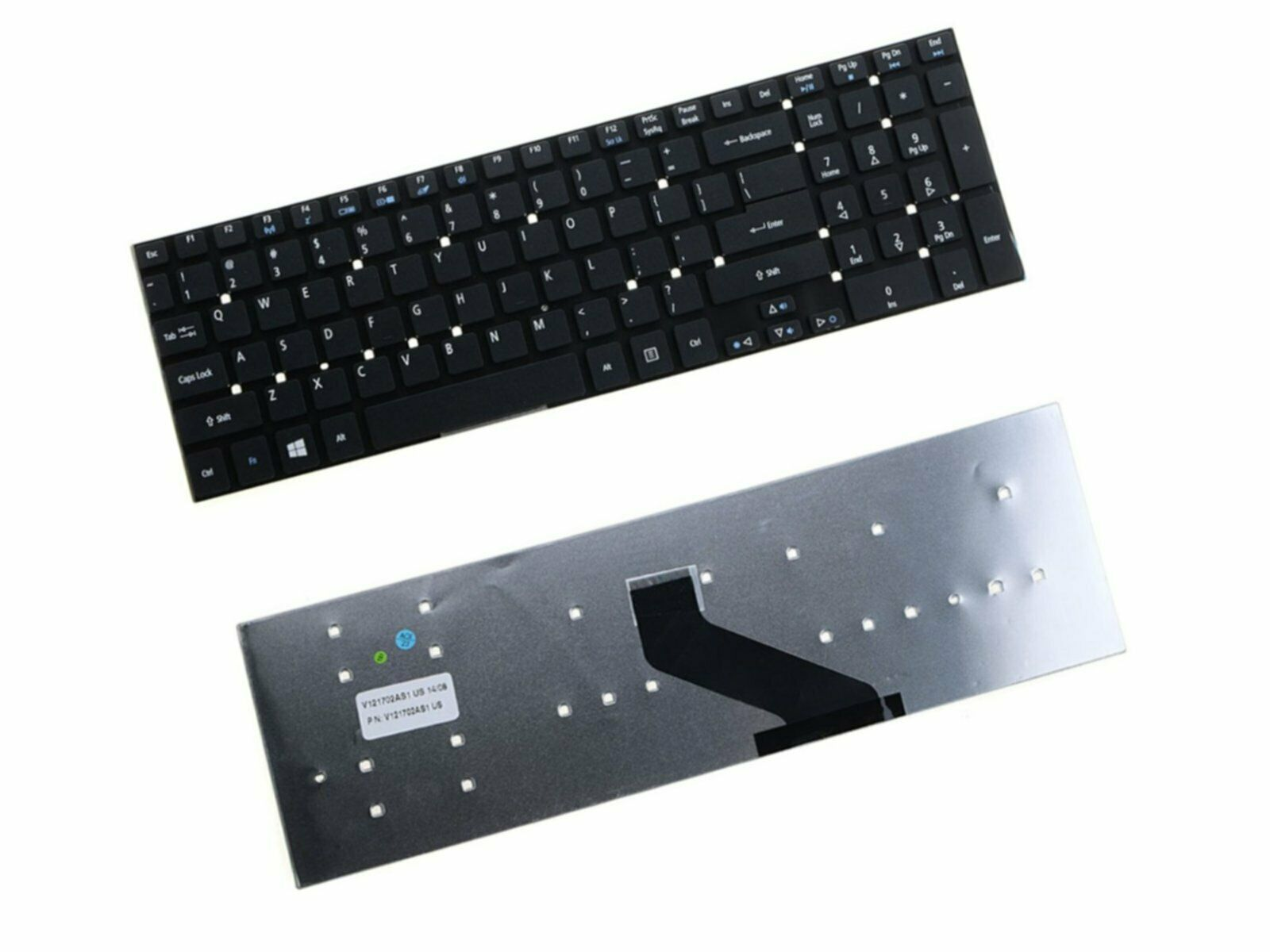 RU//Russian Keyboard for ACER Aspire E5-572G E5-721 E5-731 E5-731G  Series Laptop