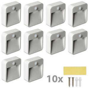 10x veilleuse led securite avec capteur d tecteur. Black Bedroom Furniture Sets. Home Design Ideas