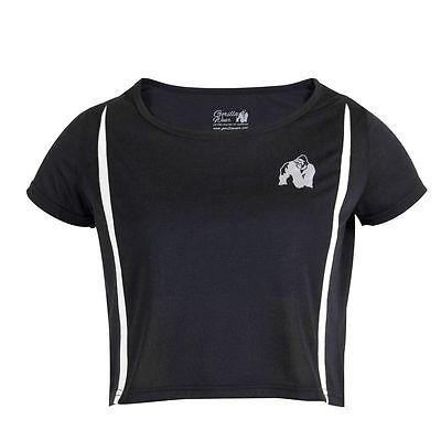Détails sur Gorilla wear Femmes Columbia Crop Haut NoirBlanc Soldes