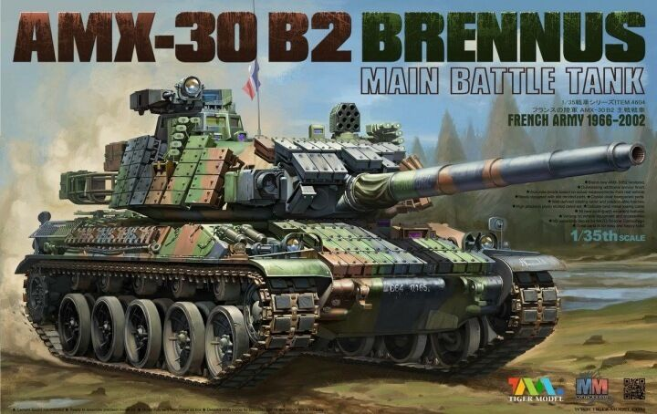 Tiger Models 1 35 AMX-30 B2 Brennus Main Battle Tank