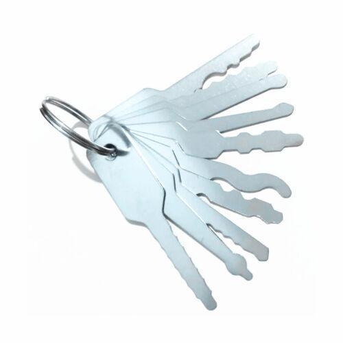 10PCS Opening Locks Set Car Door Key Lost Lock Out Emergency Open Unlock Tools