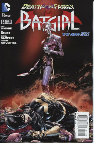 BATGIRL 14 Death in Family NM 1st printing CBX5A