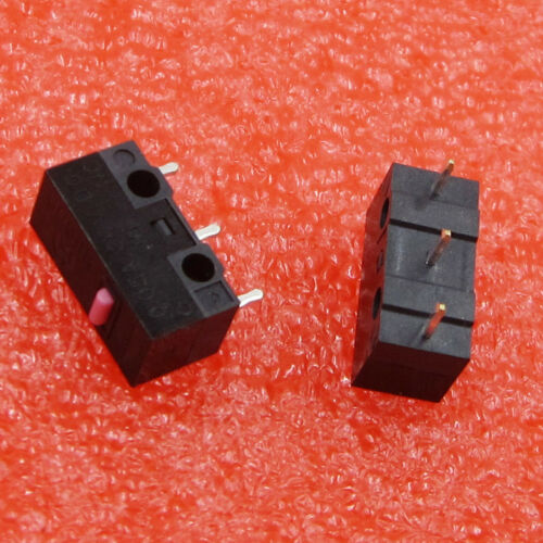 10pcs 12.8*5.8*6.5mm Mouse Microswitch Stable Pushbutton Switches
