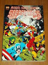 MARVEL SUPER HEROES SECRET WARS CAPTAIN AMERICA X-MEN THOR  9780871359030