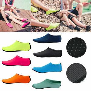 2Pair Adult Kid Water Aqua Shoes Swim Surf Beach Pool Yoga Exercise Skin Socks