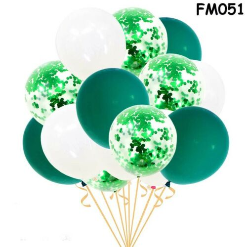 Pearl Baby Shower Balloons Party Latex Confetti 15pcs Baloons Birthday Decor