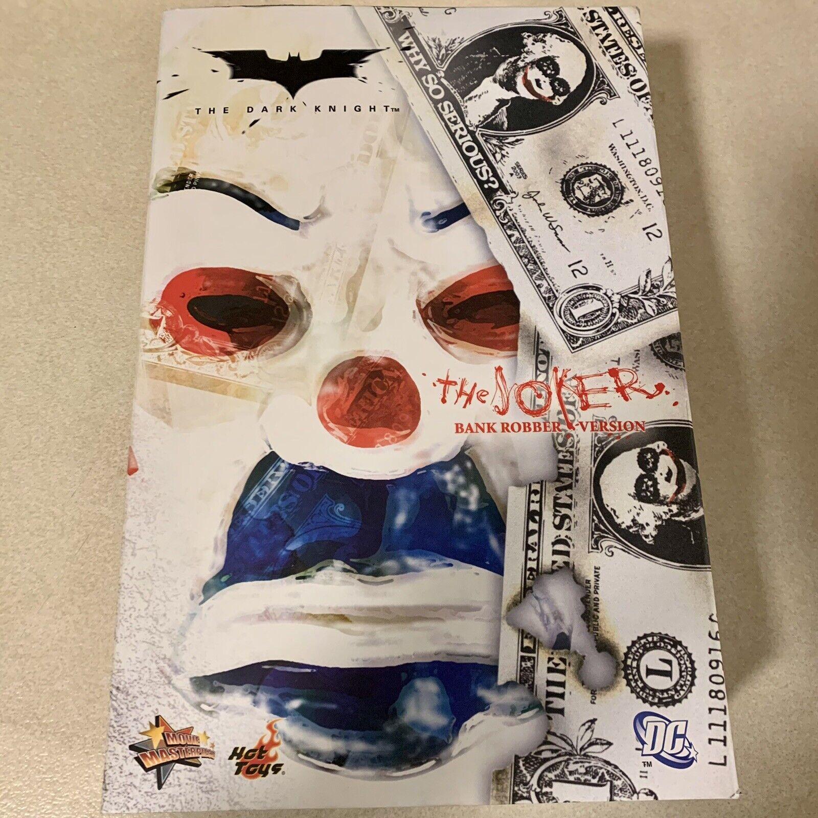 Hot Toys MMS 79 Batman The Dark Knight The Joker (Bank Robber Version 1.0) on eBay thumbnail