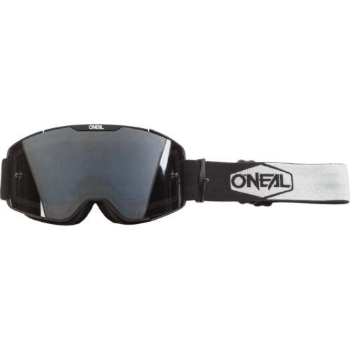 Oneal B-20 2020 Plain Grey Tinted Motocross Goggles MX Off Road Adventure Enduro