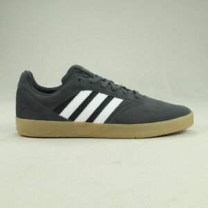 Adidas-Suciu-ADV-Skate-Trainers-Shoes-Grey-Gum-new-in-box-Size-UK-7-8-9-10-11