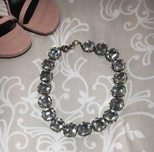 EUC J Crew Swarovski Necklace $168 Crystal Diamond Jewel