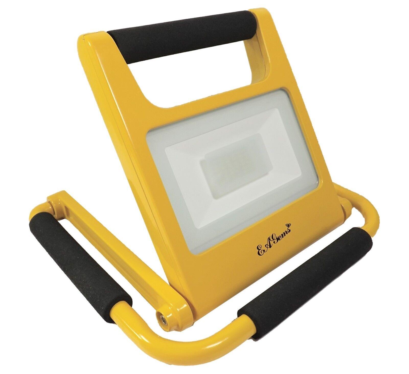 EAGems LED Work Light Rechargeable Portable Adjustable Flashlight Spotlight 20W