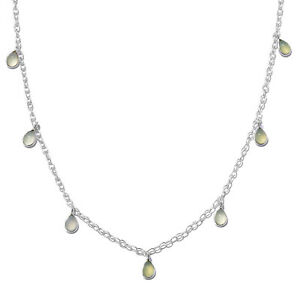 Green-Chalcedony-925-Sterling-Silver-Drop-Charm-Necklace-for-Women-18-034-Ct-5-2
