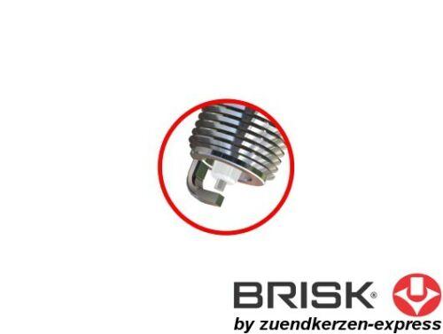 5 pezzi By Z-E Brisk SILVER dr15ys 1334 CANDELE BENZINA GPL GPL CNG GPL