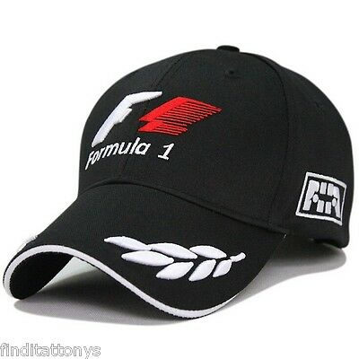NEW Word Championship Formula 1 Embroidery Baseball Cap Hat Racing F1 Adjustable