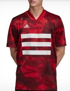 Adidas Tango AOP Short Sleeve Soccer Jersey Shirt Men's Size S ...