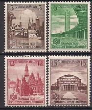 Nazi Germany Third Reich Mi# 665-668 MH 16th German Sports Tournament Breslau *
