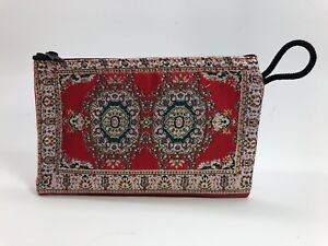 TRADITIONAL-TURKISH-WALLETS-FABRIC-WOVEN-VARIOUS-PATTERN-COIN-MAKEUP-ZIP-BAG-NEW